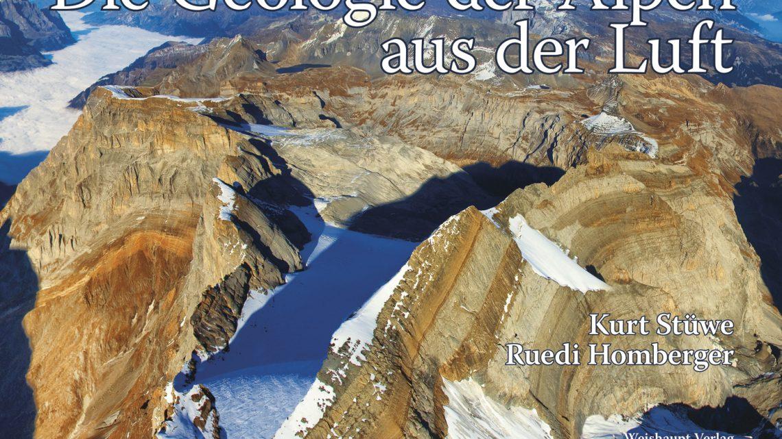 Zeit zu lesen: Die Geologie der Alpen aus der Luft