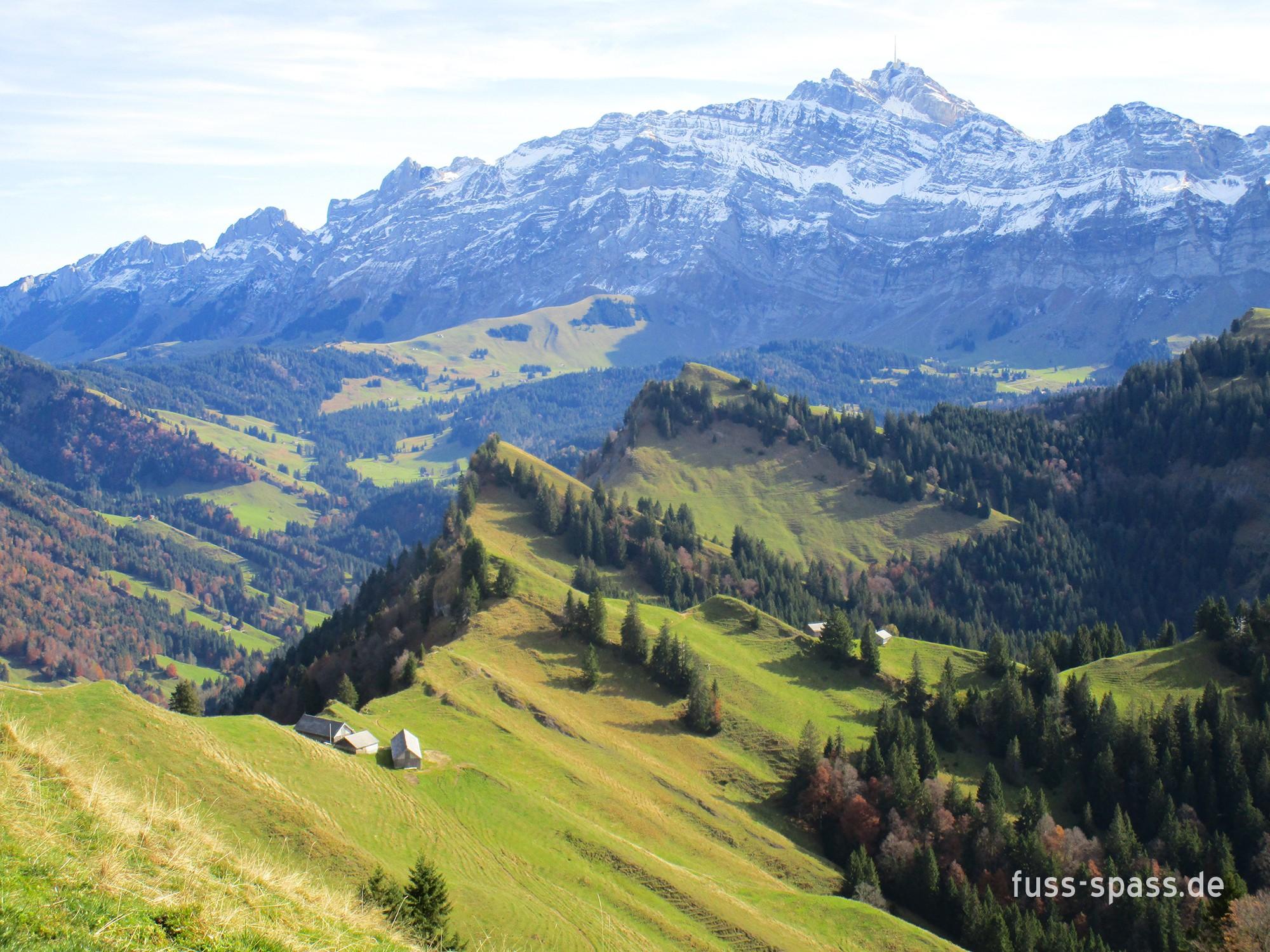 Tour: Hochalp und Spicher (Schweiz)