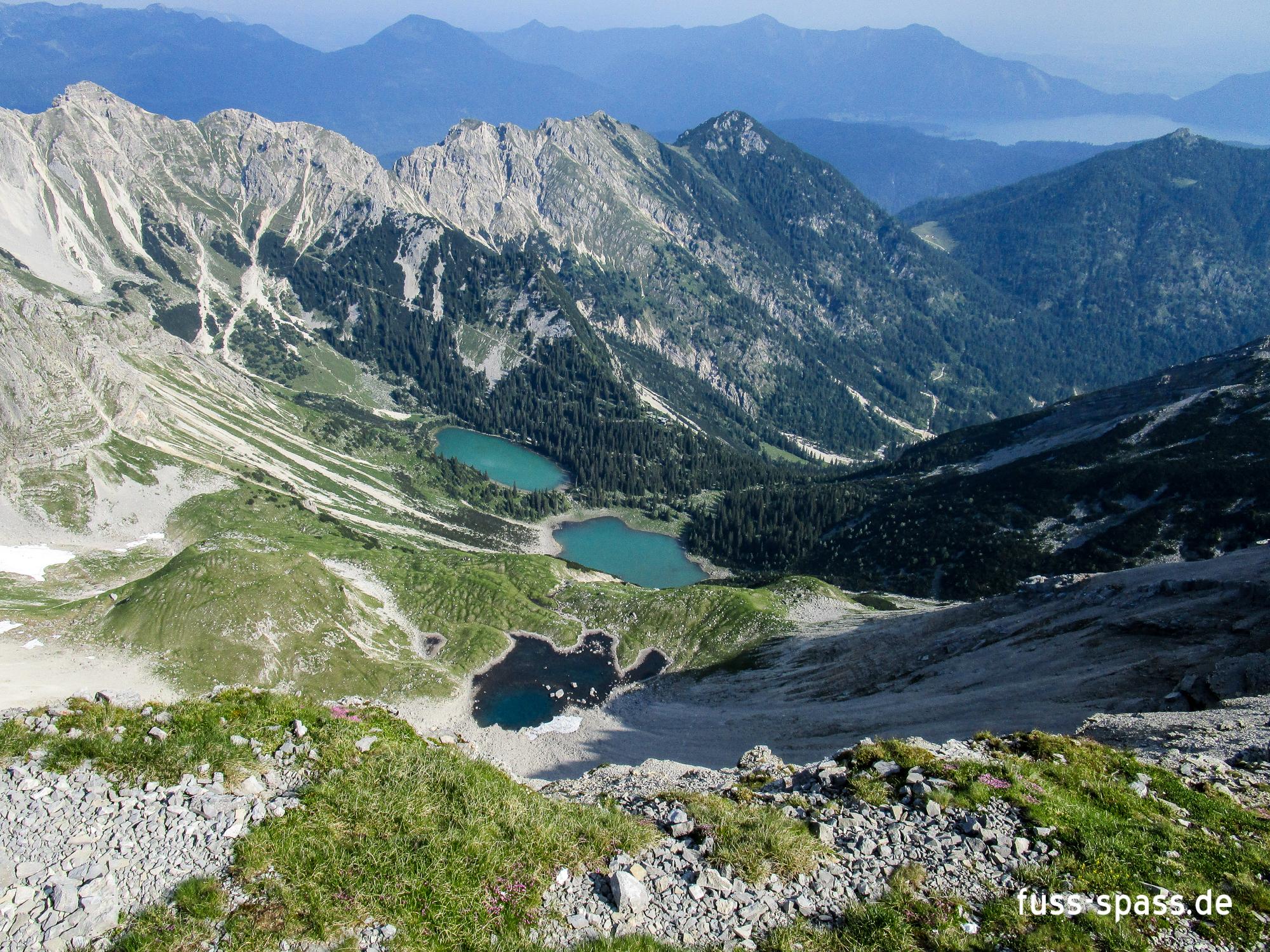 Zweitagestour: Geschöttelt (Karwendel)