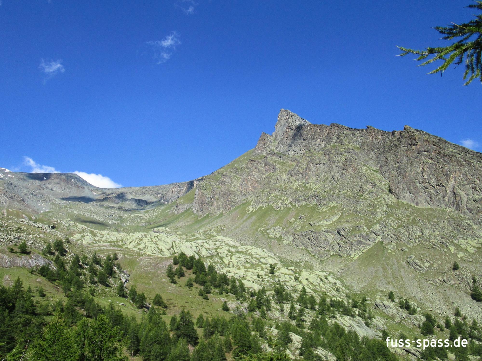 Gipfelziele: Punta Pousset (Italien)