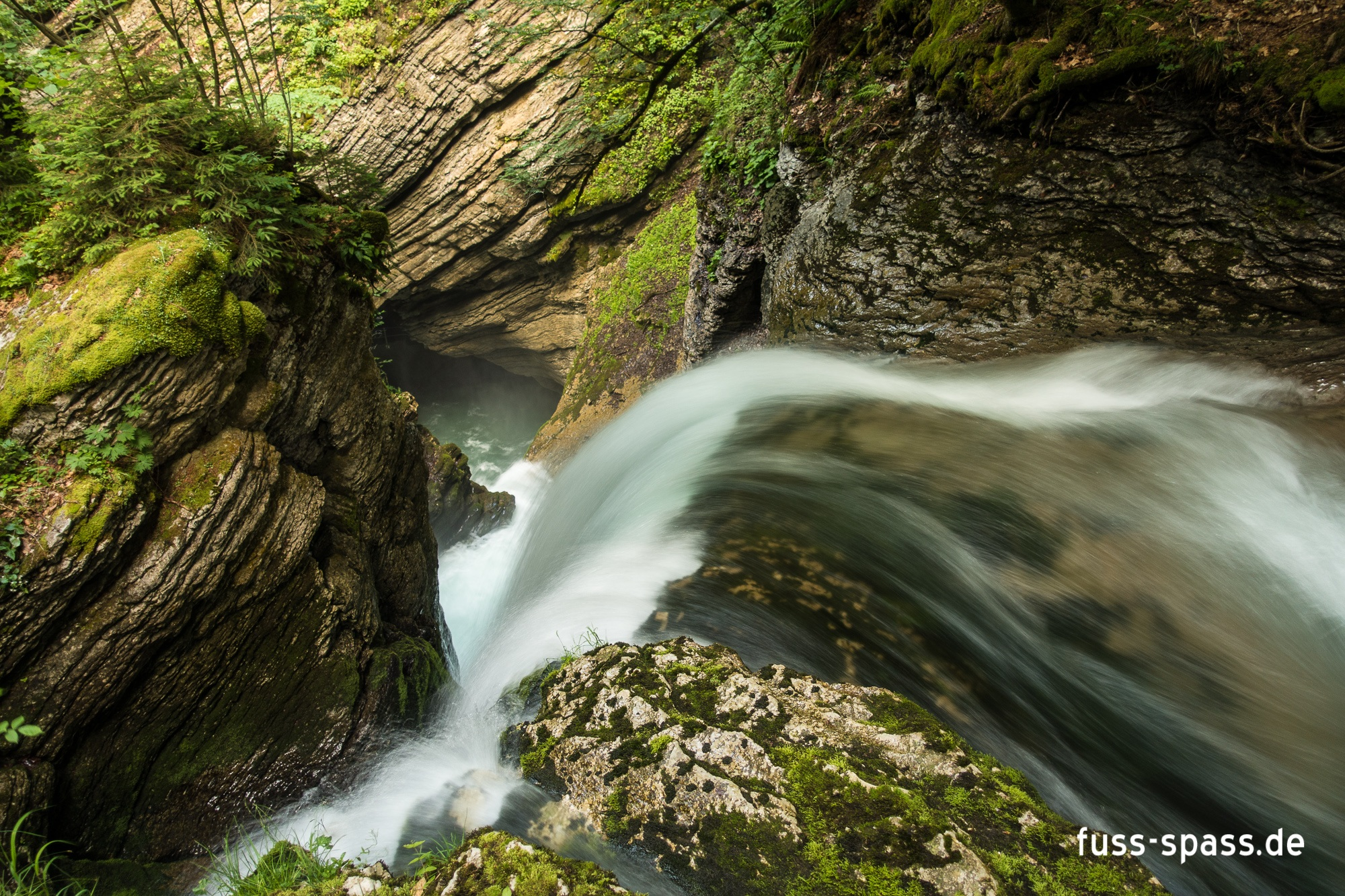 Bild der Woche: Die Kraft des Wassers