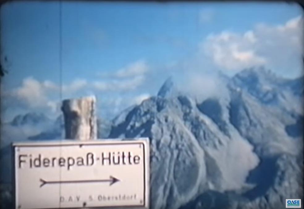 Weitergeklickt: Allgäuer Hüttentour 1968