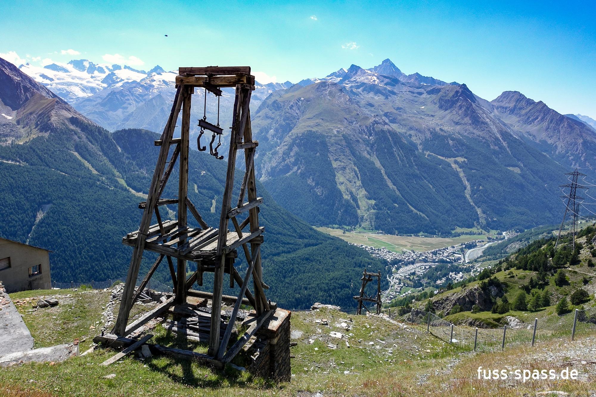 Tour: Die Minen von Cogne