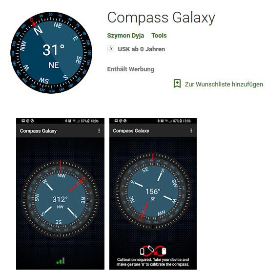 Weitergeklickt: Compass Galaxy