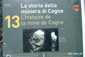 Die Mine von Cogne