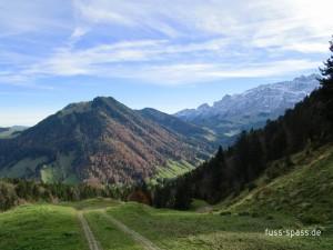 Auf dem Heimweg Blick zum Kronberg